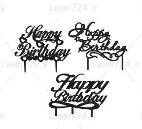تاپر کیک تولد