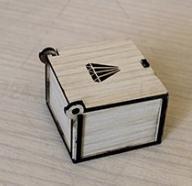 جعبه انگشتر ساده