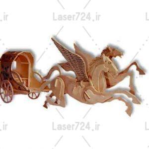 تراریوم اسب و کالسکه