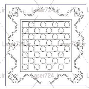طرح بازی صفحه شطرنج