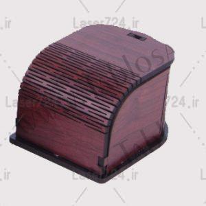 جعبه جواهرات چوبی
