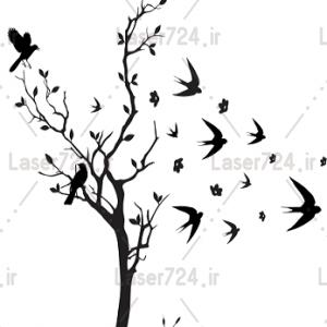 وکنور درخت و پرستو