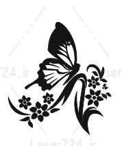وکنور گل و پروانه