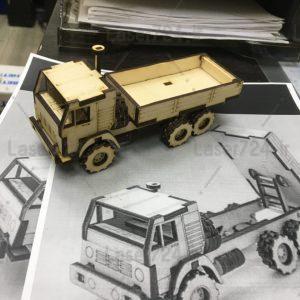 پازل سه بعدی کامیون