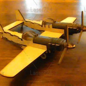 پازل سه بعدی هواپیما