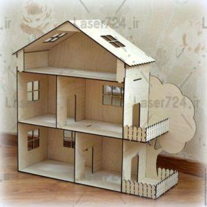 پازل سه بعدی خانه