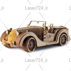 طرح لیزری ماشین