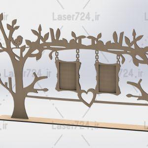 قاب عکس درخت