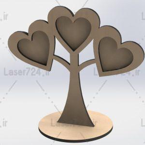 قاب عکس درختی