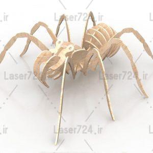 پازل سه بعدی عنکبوت