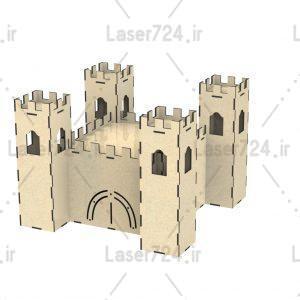 طرح لیزری قلعه