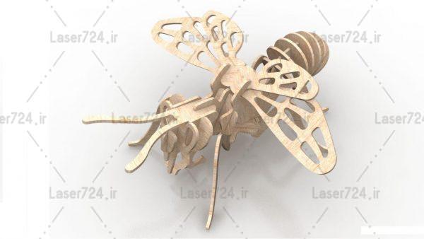طرح لیزر زنبور