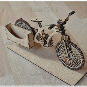 پازل سه بعدی دوچرخه