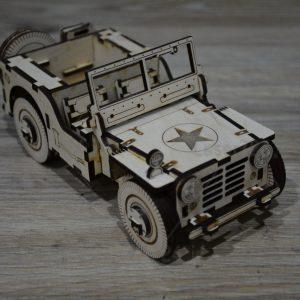 تراریوم جیپ جنگی