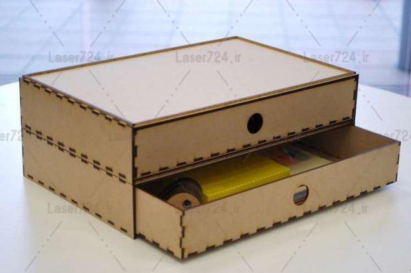 طرح جعبه کشودار
