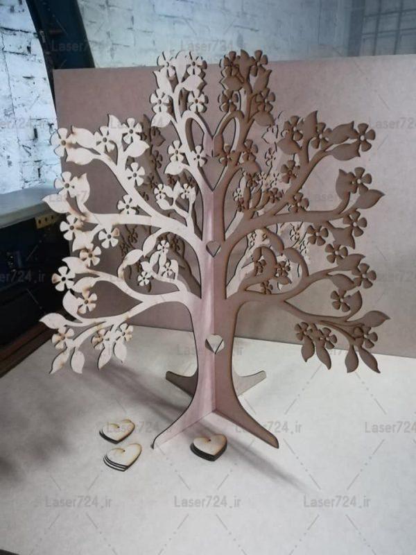 پازل سه بعدی درخت