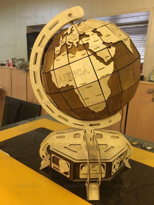 پازل سه بعدی کره زمین