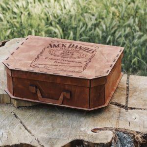 طرح لیزری کیف چوبی