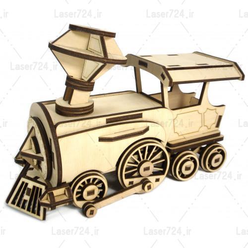 پازل سه بعدی قطار