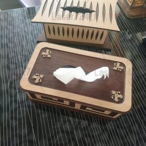 طرح جعبه دستمال
