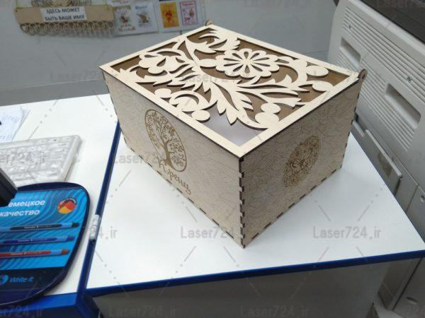 طرح معرق جعبه کادویی