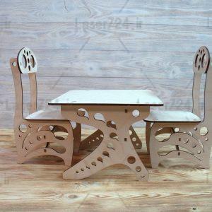 طرح معرق میز و صندلی