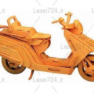 پازل موتورسیکلت