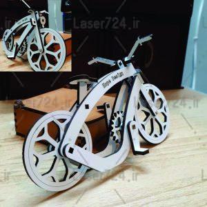 طرح لیزر ماکت دوچرخه