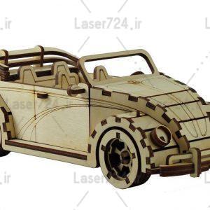 ماکت ماشین قدیمی